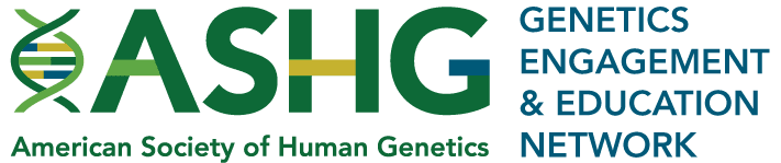 Genetics Engagement and Education Network Logo