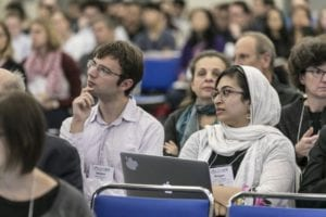 Attendees in Sessions