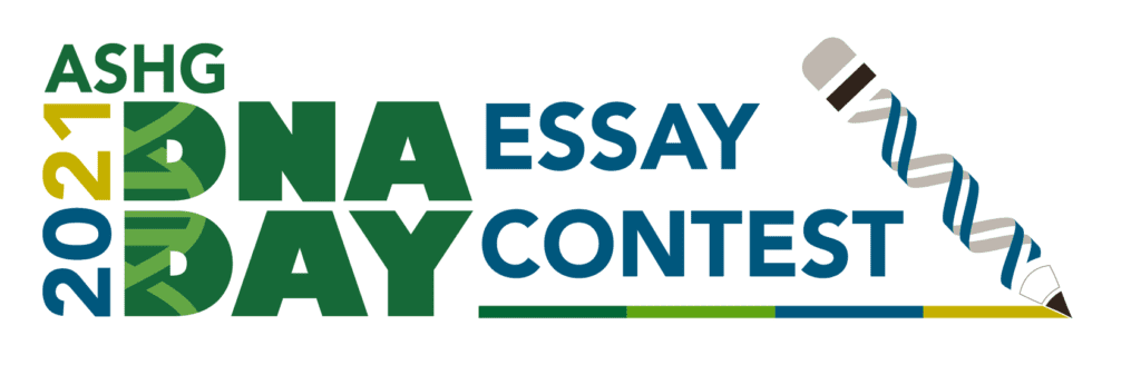 2021 DNA Day Essay Contest Logo