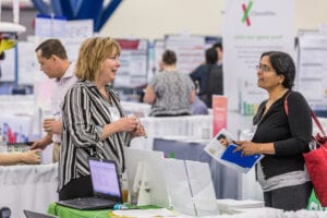 Attendee and Employer at ASHG Meetings Career Fair
